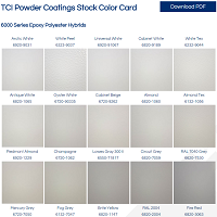 Stock Color Card